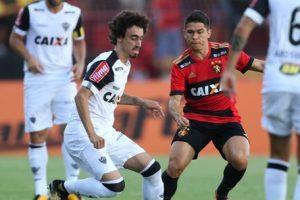 Fred marca no empate do Atlético com Sport