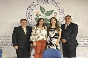 Vereador de Manhuaçu participa de Congresso sobre alimentação escolar em Brasília