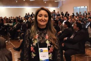Prefeita de Manhuaçu na Conferência Nacional de Municípios em Brasília