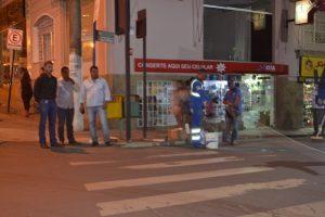 Faixas de pedestres são revitalizadas após solicitação do vereador Juninho Linhares
