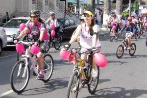 Manhuaçu: Pedal Rosa traz mobilização contra o câncer de mama
