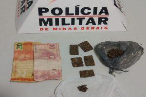 Manhuaçu: PM apreende menores infratores por Tráfico de Drogas