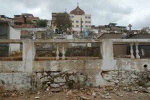 Prefeitura trabalha na reforma do Cemitério Municipal