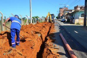 SAAE constrói nova rede de esgoto no Bairro São Francisco de Assis