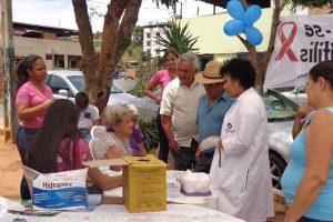 Campanha de combate à Sífilis na ESF do Bairro Lajinha