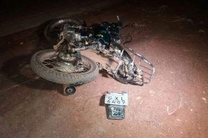Motociclista morre em acidente na região de Dom Corrêa