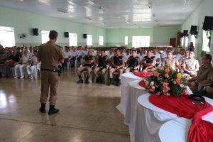 PM inicia mais um curso de formação e soldados com aula inaugural