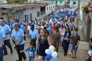 5 anos do Terço dos Homens de São Pedro do Avaí. Veja fotos