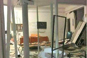 Pocrane: Bandidos explodem cofre e destroem agência bancária