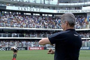 Atlético perde de 3 a 1 para o Santos