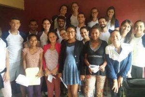 Educação Física da Univértix realiza palestra para gestantes do CRAS de Matipó