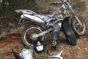 Polícia Civil recupera moto roubada e identifica suspeitos
