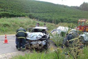 Martins Soares: Uma pessoa morta e 4 feridos em acidente na MG 108