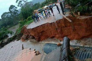 Defesa Civil divulga nota sobre estragos causados pela chuva em Manhuaçu e região