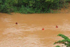 Conceição de Ipanema: Continua a busca por desaparecido em enchente