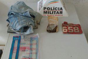 Simonésia: Suspeito de tráfico é preso com drogas pela PM