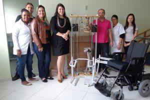 Manhuaçu: Centro de Reabilitação da SMS recebe novas cadeiras de rodas