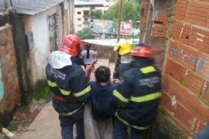 Bombeiros atendem ocorrência de incêndio no Bairro Nossa Senhora Aparecida