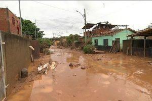 Rio Casca tem cerca de 800 pessoas desabrigadas
