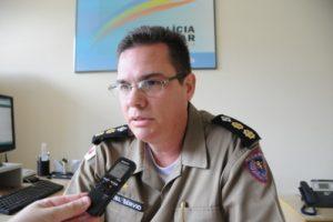 Tenente Coronel Sérvio comandará a 15ª Região da Polícia Militar