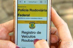 Lançado pela PRF, Sistema SINAL agiliza localização de veículo roubado ou furtado