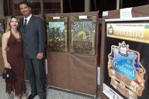 RankBrasil: Fabrício Santos é o primeiro brasileiro a pintar Via-Sacra Africana