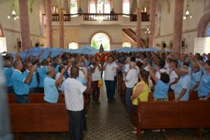 Terço dos Homens de Manhuaçu celebra 7º aniversário