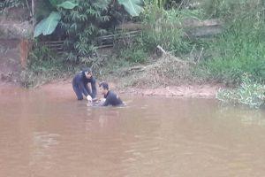 Localizada vítima de afogamento no Rio Manhuaçu