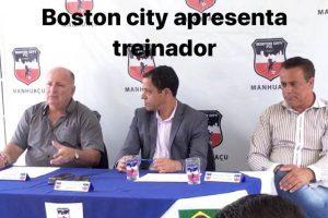 Futebol: Boston City FC apresenta técnico Carlos Rossi