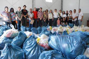 Mais de 1.300 cestas básicas foram entregues pela Prefeitura de Manhuaçu