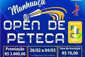 Prefeitura apoia Manhuaçu Open de Peteca