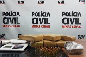 """Caso """"Dentinho"""": Maconha e munição são apreendidas pela Polícia Civil"""