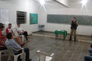 Manhuaçu: PM reúne comunidade no Distrito de Ponte do Silva