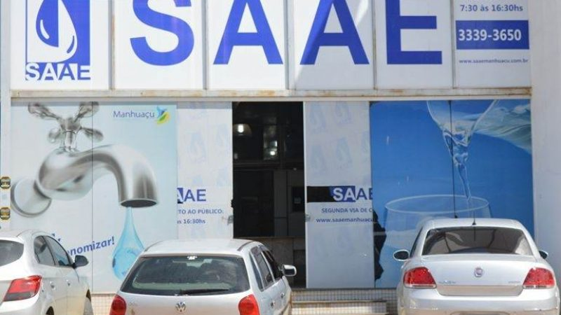 SAAE comunica falta de água para manutenção em elevatória
