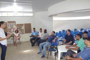 Motoristas do transporte escolar municipal participam de treinamento