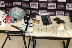 PM combate tráfico de drogas em Mutum