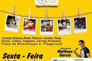 Manhuaçu: Feira gastronômica nesta sexta-feira, 16/02