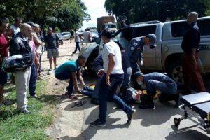 Caratinga: Policial Civil morre em colisão de motocicleta e picape