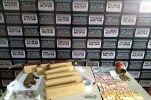 Manhuaçu: Maconha é apreendida pela PM no Bairro Santa Luzia