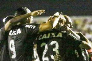 Atlético goleia na Copa do Brasil: 4 a 0