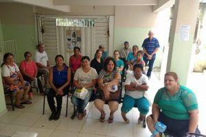ESF do Bairro Matinha realiza palestra para Grupo de Insulinodependentes