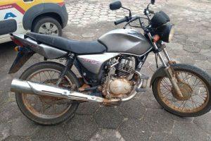 Motocicletas furtadas são recuperadas pela PM em Alto Jequitibá