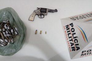 Santa Margarida: PM combate posse ilegal de arma de fogo e receptação