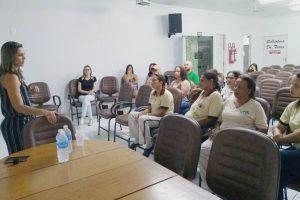 UPA Manhuaçu realiza palestra para profissionais da área de serviços gerais