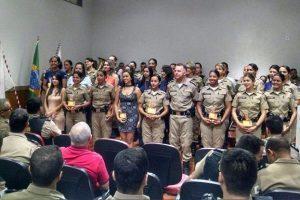 Polícia Militar homenageia destaques da corporação no 2º semestre de 2017