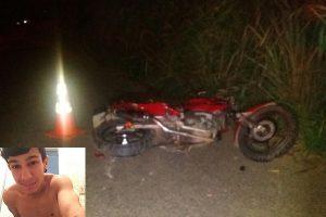 Divino: Jovem morre em acidente na MG 265