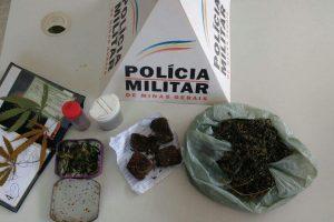 Martins Soares: PM prende casal suspeito de tráfico de drogas