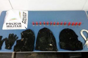 Manhuaçu: PM apreende munições em lavoura de café