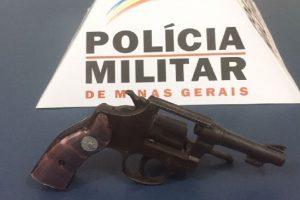 São José do Mantimento: Polícia apreende arma de fogo após denúncia