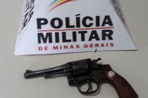 Caiana: PM apreende arma de fogo em situação irregular